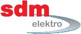SDM elektro logo